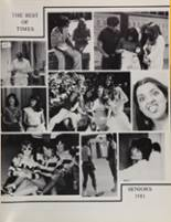 1981 Peterson High School Yearbook Page 204 & 205