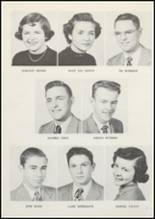 1953 Grundy Center High School Yearbook Page 20 & 21