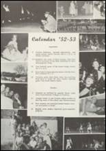 1953 Grundy Center High School Yearbook Page 48 & 49