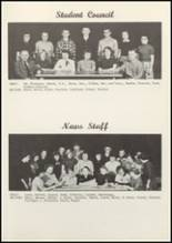 1953 Grundy Center High School Yearbook Page 54 & 55