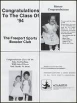 1994 Freeport High School Yearbook Page 200 & 201