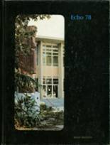 1978 Yearbook Sanger High School