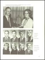 1969 Galion High School Yearbook Page 128 & 129