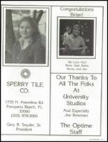 1985 Westminster Academy Yearbook Page 176 & 177