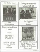 1985 Westminster Academy Yearbook Page 178 & 179