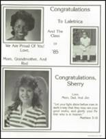 1985 Westminster Academy Yearbook Page 190 & 191