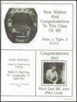 1985 Westminster Academy Yearbook Page 210 & 211