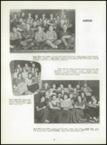 1954 Graveraet High School Yearbook Page 34 & 35