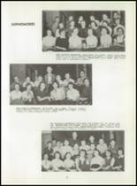 1954 Graveraet High School Yearbook Page 36 & 37