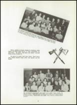 1954 Graveraet High School Yearbook Page 38 & 39