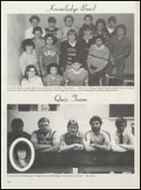 1984 Meigs High School Yearbook Page 128 & 129