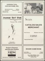 1984 Meigs High School Yearbook Page 186 & 187