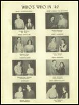 1950 Ramsay High School Yearbook Page 10 & 11