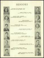 1950 Ramsay High School Yearbook Page 12 & 13