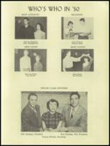 1950 Ramsay High School Yearbook Page 16 & 17