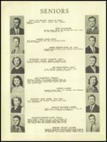 1950 Ramsay High School Yearbook Page 22 & 23