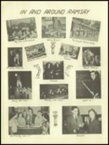 1950 Ramsay High School Yearbook Page 42 & 43