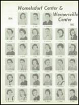 1959 Conrad Weiser High School Yearbook Page 44 & 45