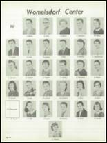 1959 Conrad Weiser High School Yearbook Page 50 & 51
