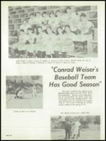 1959 Conrad Weiser High School Yearbook Page 70 & 71