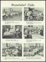 1959 Conrad Weiser High School Yearbook Page 74 & 75