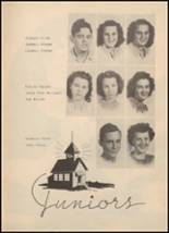 1947 Archer City High School Yearbook Page 46 & 47