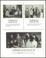 1969 Coventry High School Yearbook Page 198 & 199