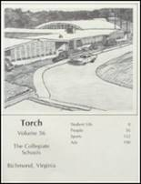 1981 Collegiate High School Yearbook Page 4 & 5