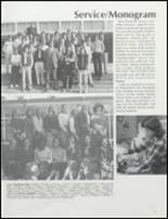 1981 Collegiate High School Yearbook Page 24 & 25