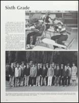 1981 Collegiate High School Yearbook Page 128 & 129