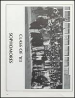 1981 Collegiate High School Yearbook Page 212 & 213