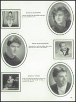 1991 Southern Aroostook Community High School Yearbook Page 32 & 33