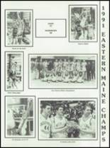 1991 Southern Aroostook Community High School Yearbook Page 72 & 73