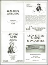 1991 Southern Aroostook Community High School Yearbook Page 106 & 107