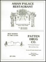 1991 Southern Aroostook Community High School Yearbook Page 122 & 123