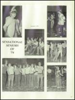 1974 Stratford High School Yearbook Page 100 & 101