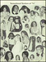 1974 Stratford High School Yearbook Page 152 & 153