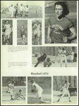 1974 Stratford High School Yearbook Page 156 & 157