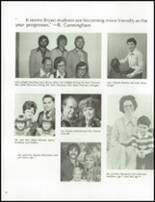 1978 Bryan High School Yearbook Page 34 & 35