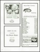 1978 Bryan High School Yearbook Page 218 & 219