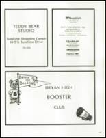 1978 Bryan High School Yearbook Page 220 & 221