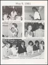 1981 Olney High School Yearbook Page 28 & 29
