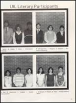 1981 Olney High School Yearbook Page 42 & 43