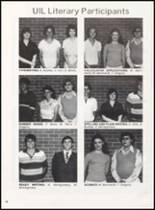1981 Olney High School Yearbook Page 44 & 45