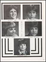 1981 Olney High School Yearbook Page 52 & 53