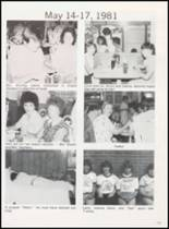 1981 Olney High School Yearbook Page 118 & 119