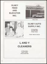 1981 Olney High School Yearbook Page 168 & 169
