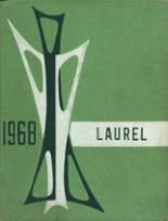 1968 Yearbook Laurel Valley High School