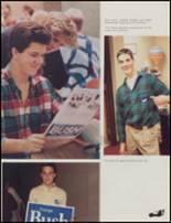 1989 Union High School Yearbook Page 18 & 19