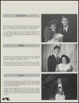 1989 Union High School Yearbook Page 28 & 29